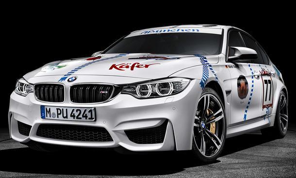 BMW M3 Münchner Wirte 2015 Oktoberfest Einzelstück
