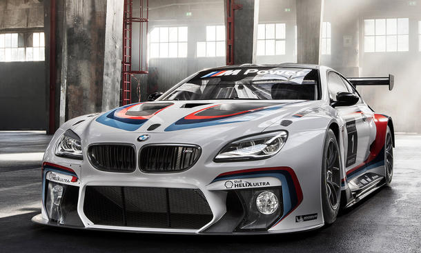 bmw m6 gt3 2015 iaa premiere vorstellung neuheit motorsport rennwagen