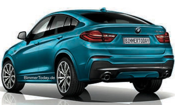 bmw x4 m40i 2016 preis und marktstart bild 14. Black Bedroom Furniture Sets. Home Design Ideas