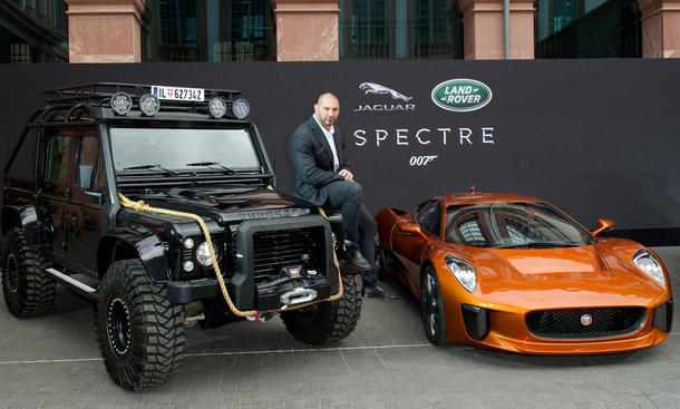 James Bond Land Rover Defender Jaguar C-X75