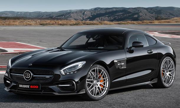 Mercedes-AMG GT S mit Tuning von Brabus