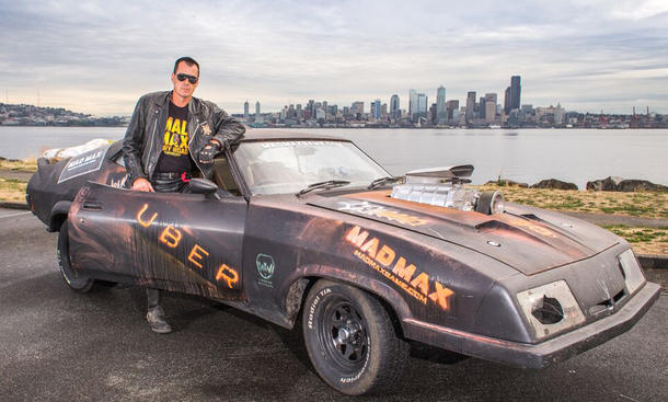 mad max uber seattle aktion interceptor v8