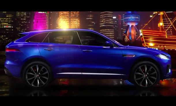 jaguar f pace 2015 iaa suv vorstellung premiere video bilder infos
