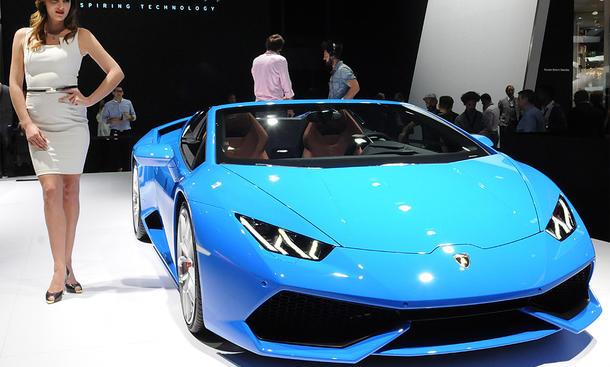 Lamborghini Huracán Spyder (2016)