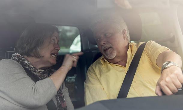 autofahren streit ehepaar mann frau psychologie