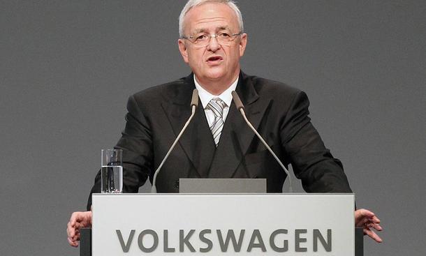VW-Vorstandsvorsitzender Martin Winterkorn Vertrag verlängert
