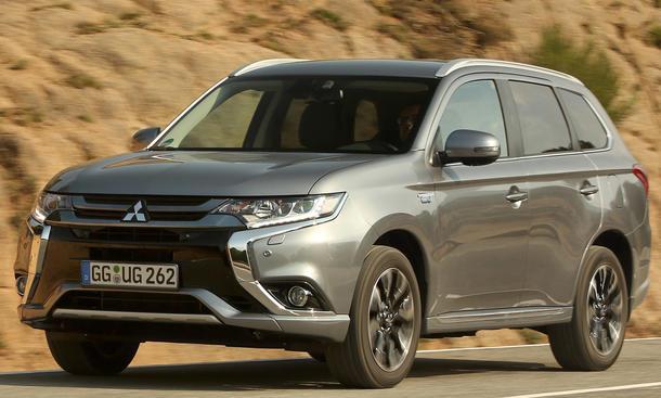 Mitsubishi Outlander PHEV Fahrbericht
