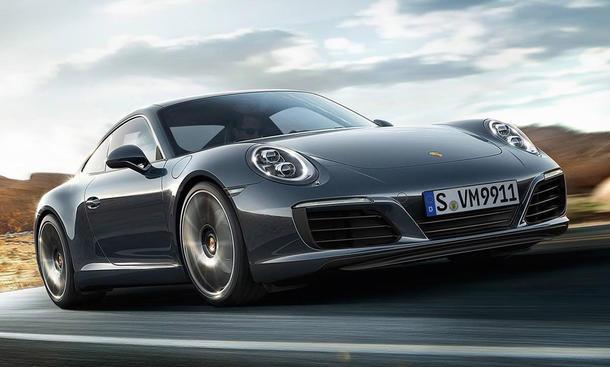 Porsche 911 Facelift 2015 Fahrbericht Turbo-Motoren Mitfahrt