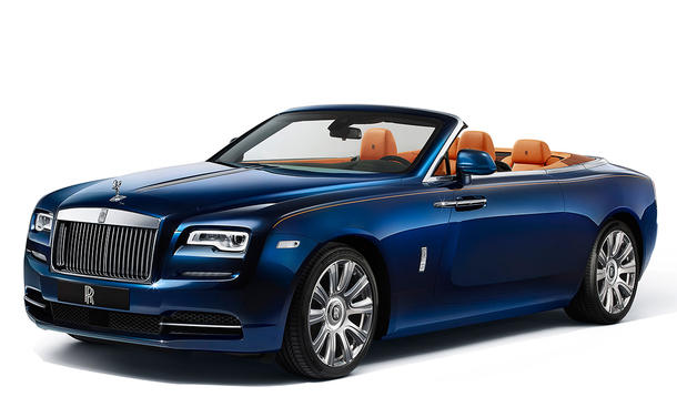 Rolls-Royce Dawn 2015 IAA Luxus-Cabrio Neuheit