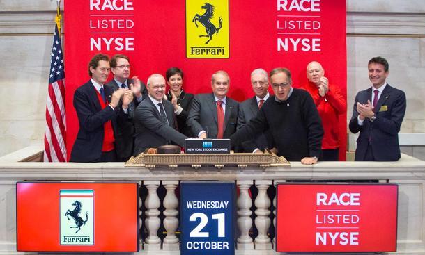 Ferrari-Börsengang