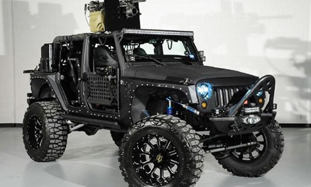 Jeep Wrangler Full Metal Jacket