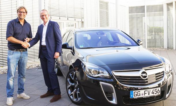 Klopp Opel insignia vauxhall sponsoring werbung
