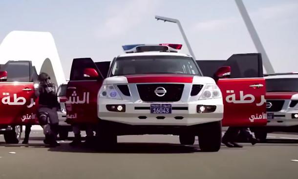 Polizei in Abu Dhabi