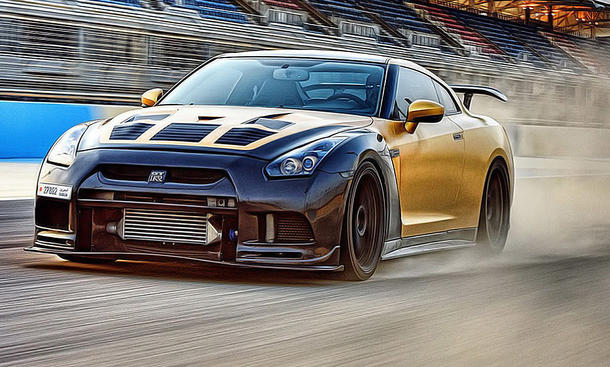 Nissan Gt R Extrem Tuning Autozeitung De