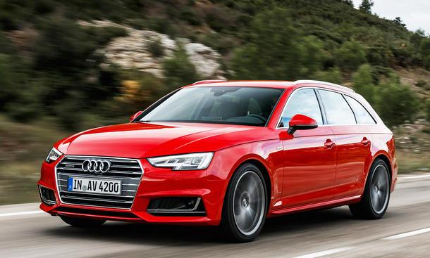 Fahrbericht Audi A4 Avant B9 Kombi