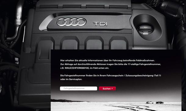 Audi Diesel Skandal TDI