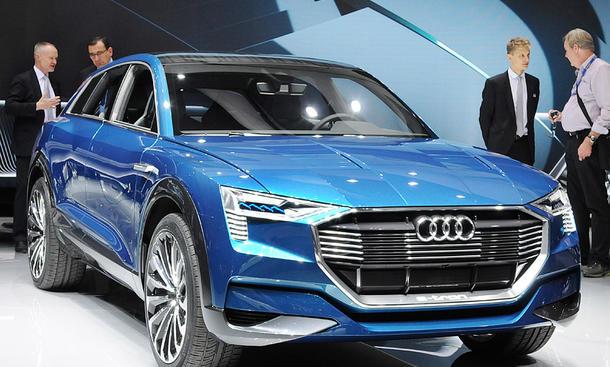 Audi Q6 e-tron quattro (2018): Produktion in Brüssel | Bild 3 ...