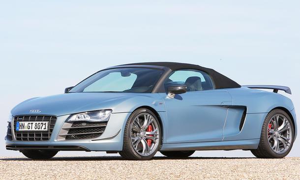 Audi R8 GT Spyder im Sprintduell