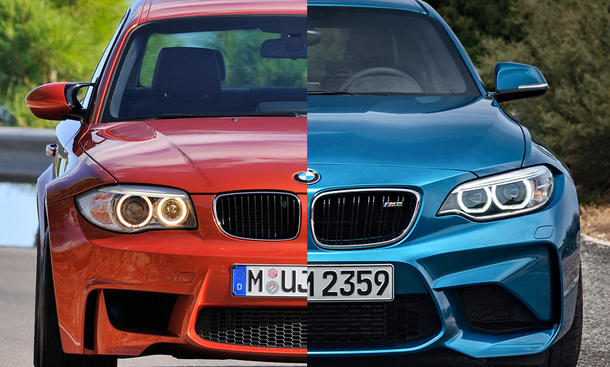 bmw m2 gegen bmw 1er m coup vergleich bild 2. Black Bedroom Furniture Sets. Home Design Ideas