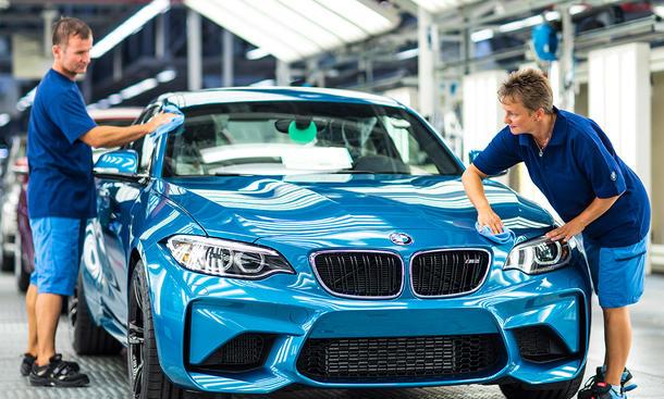 BMW M2 Produktion Leipzig