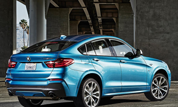 bmw x4 m40i 2016 preis und marktstart bild 4. Black Bedroom Furniture Sets. Home Design Ideas