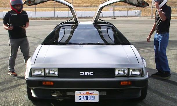 "Stanford University DeLorean ""Marty"""