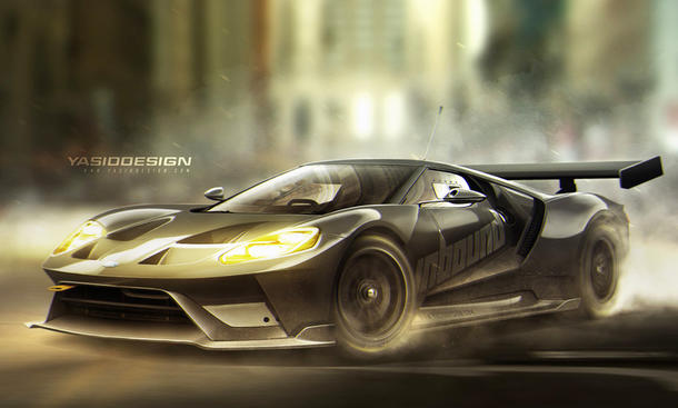 ford gt yasiddesign