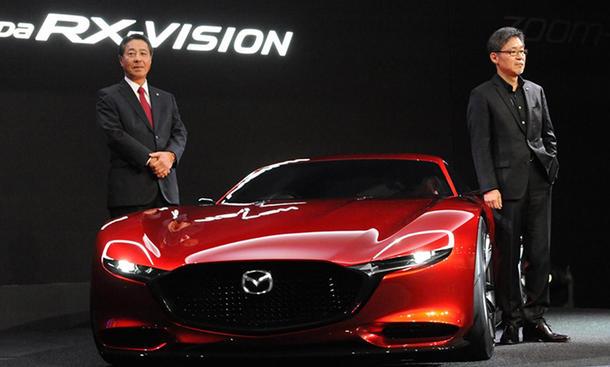 mazda rx vision 2015 tokyo motor show