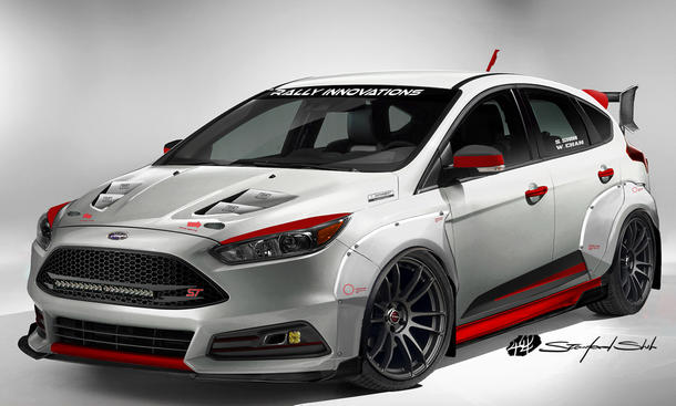 Rally Innovations Ford Focus ST