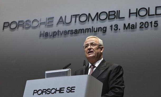 Martin Winterkorn Porsche Rücktritt