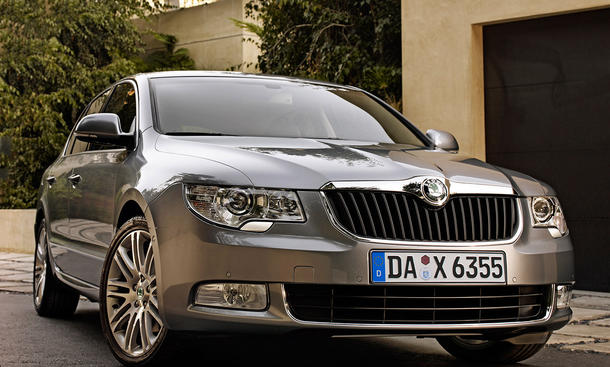 Mittelklasse-Top-7 – Platz 7: Skoda Superb