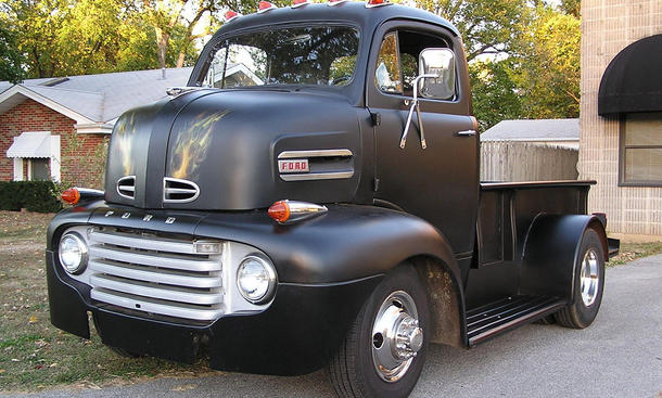 1948er ford coe pick up radikaler umbau. Black Bedroom Furniture Sets. Home Design Ideas