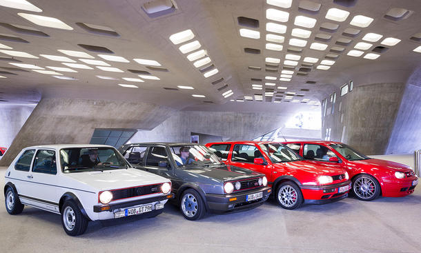 VW Golf GTI 40 Jahre