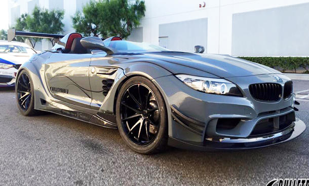 BMW Z4 Tuning GT Continuum Bulletproof