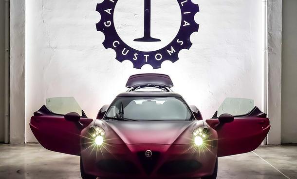 Alfa Romeo 4C La Furiosa von Garage Italia Customs