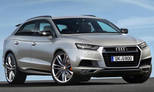 Audi Q8 (2017) – Rendering .