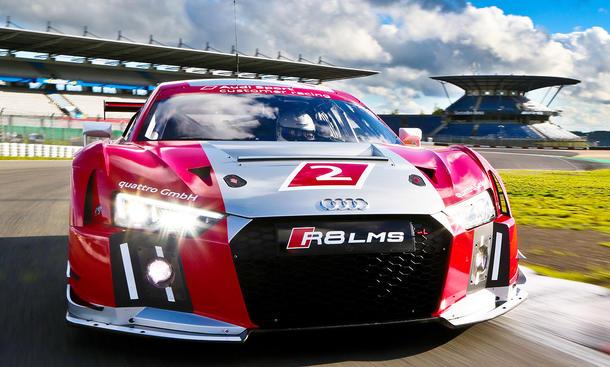 Audi R8 Lms 2015 Tracktest Autozeitung De