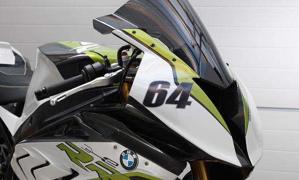 BMW eRR Elektro-Motorrad Supersportler