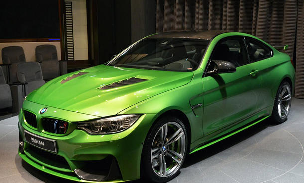Bmw m4 tuning von abu dhabi motors for A m motors
