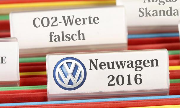 Falsche CO2-Angaben bei VW für 2016er-Modell