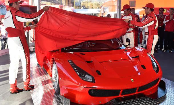 Ferrari 488 GTE GT3 Rennwagen