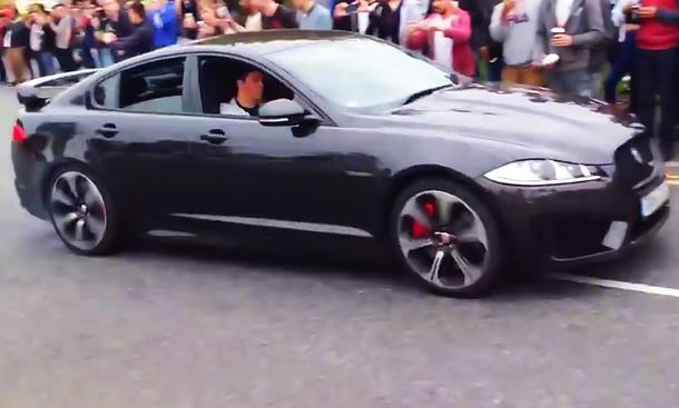 jaguar xfr-s video