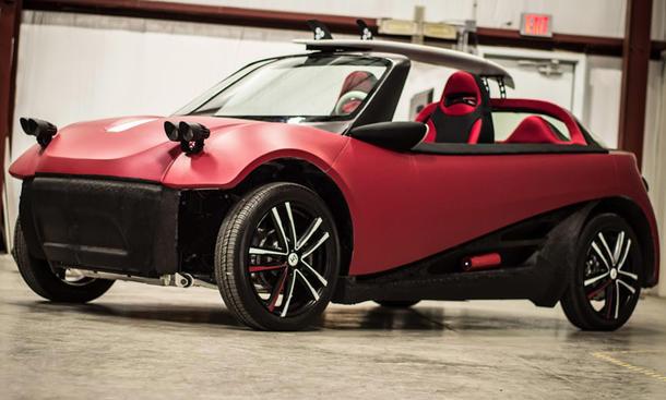 Local Motors LM3D: 3D-Drucker baut Auto | autozeitung.de