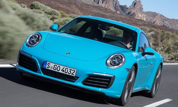 Porsche 911 Facelift 2015
