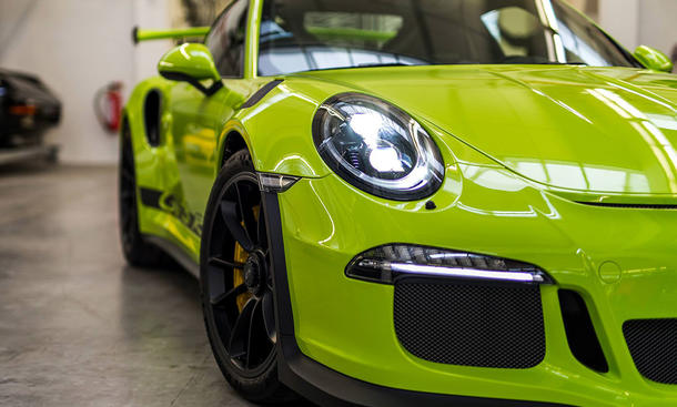 Porsche 911 GT3 RS Birch Green
