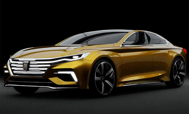 Roewe Vision R Concept