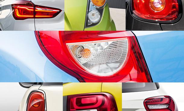 Quiz Autos am Rücklicht erkennen