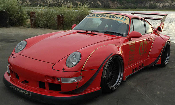porsche 993 turbo tuning von rauh welt begriff. Black Bedroom Furniture Sets. Home Design Ideas