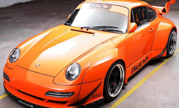 Porsche 993 mit V8