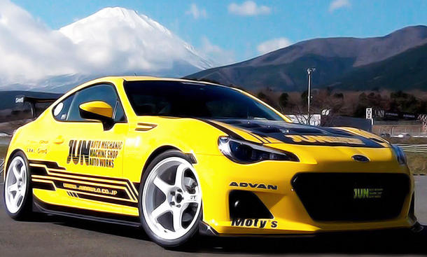 Subaru BRZ Tuning JUN Synergy